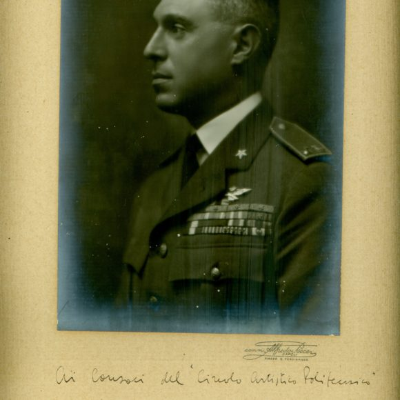 Francesco de Pinedo, Aviatore italiano – 1914