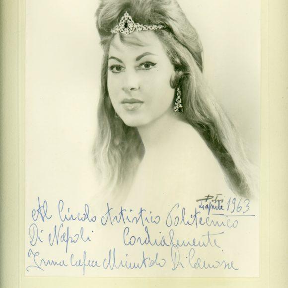 Irma Capece Minutolo di Canosa, Cantante lirica – 1963
