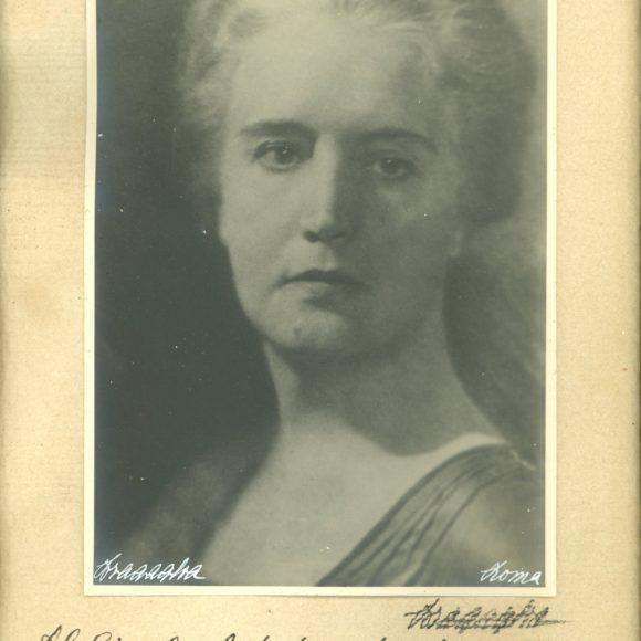 Sibilla Aleramo, Poetessa italiana – 1940