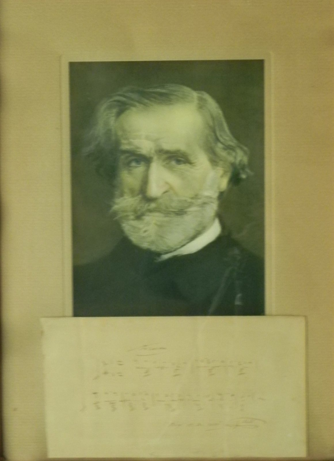 Spartito autografo della Traviata di Giuseppe Verdi, Compositore italiano