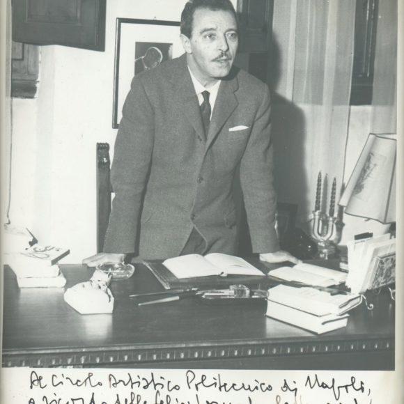 Mario Donadoni, Poeta e letterato italiano – 1949