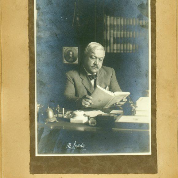 Salvatore Di Giacomo, Scrittore, autore e letterato napoletano – 1933