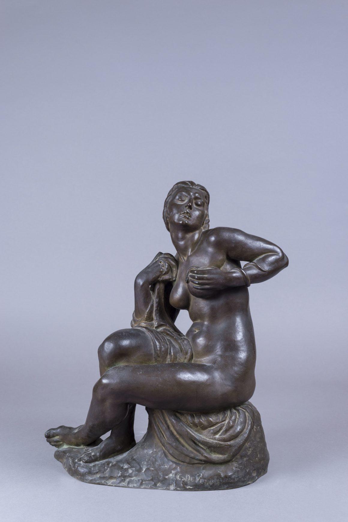 Cleopatra, Statuina in bronzo – Carlo De Veroli