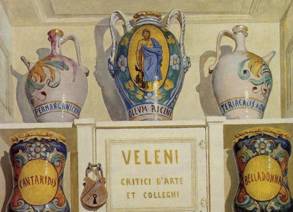 Veleni, olio su tela – Arnaldo de Lisio