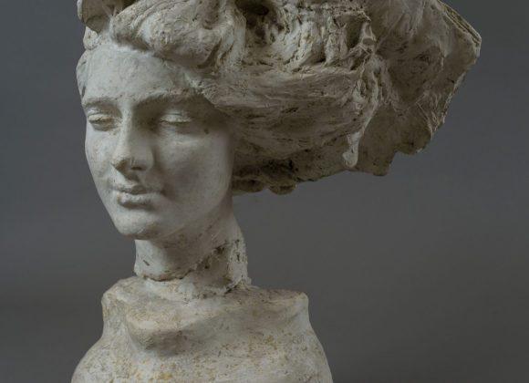 Sogno, testa in gesso – Giuseppe Renda