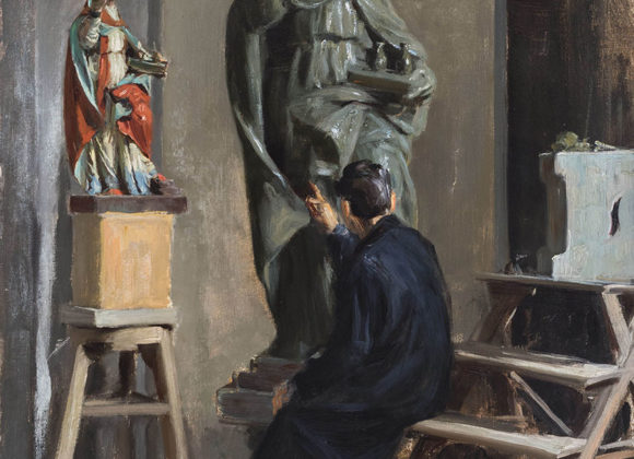 San Gennaro, olio su tela – Paolo Emilio Passaro