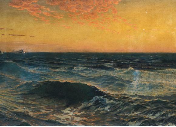 Mare, olio su tela – Stefano Farneti