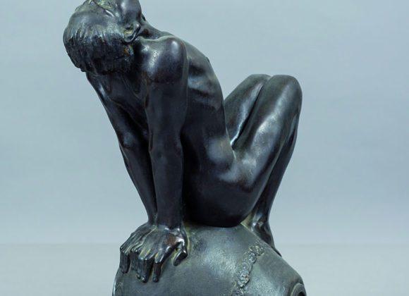 Satiretto, statuina in bronzo – Enzo Puchetti