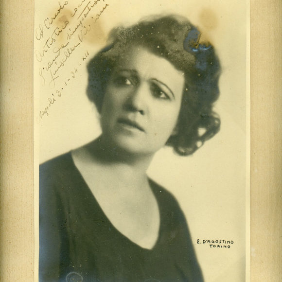 Luisella Viviani, attrice teatrale napoletana