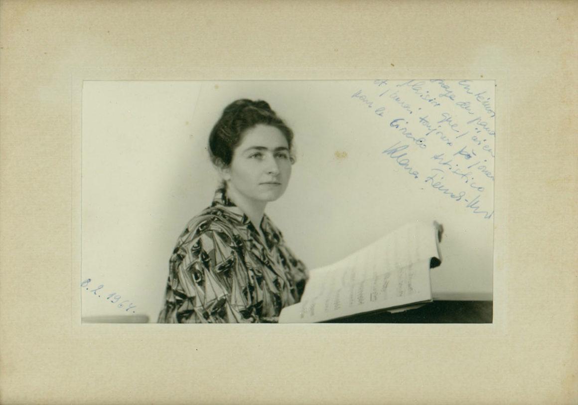 Klara Frank Conrad, pianista olandese