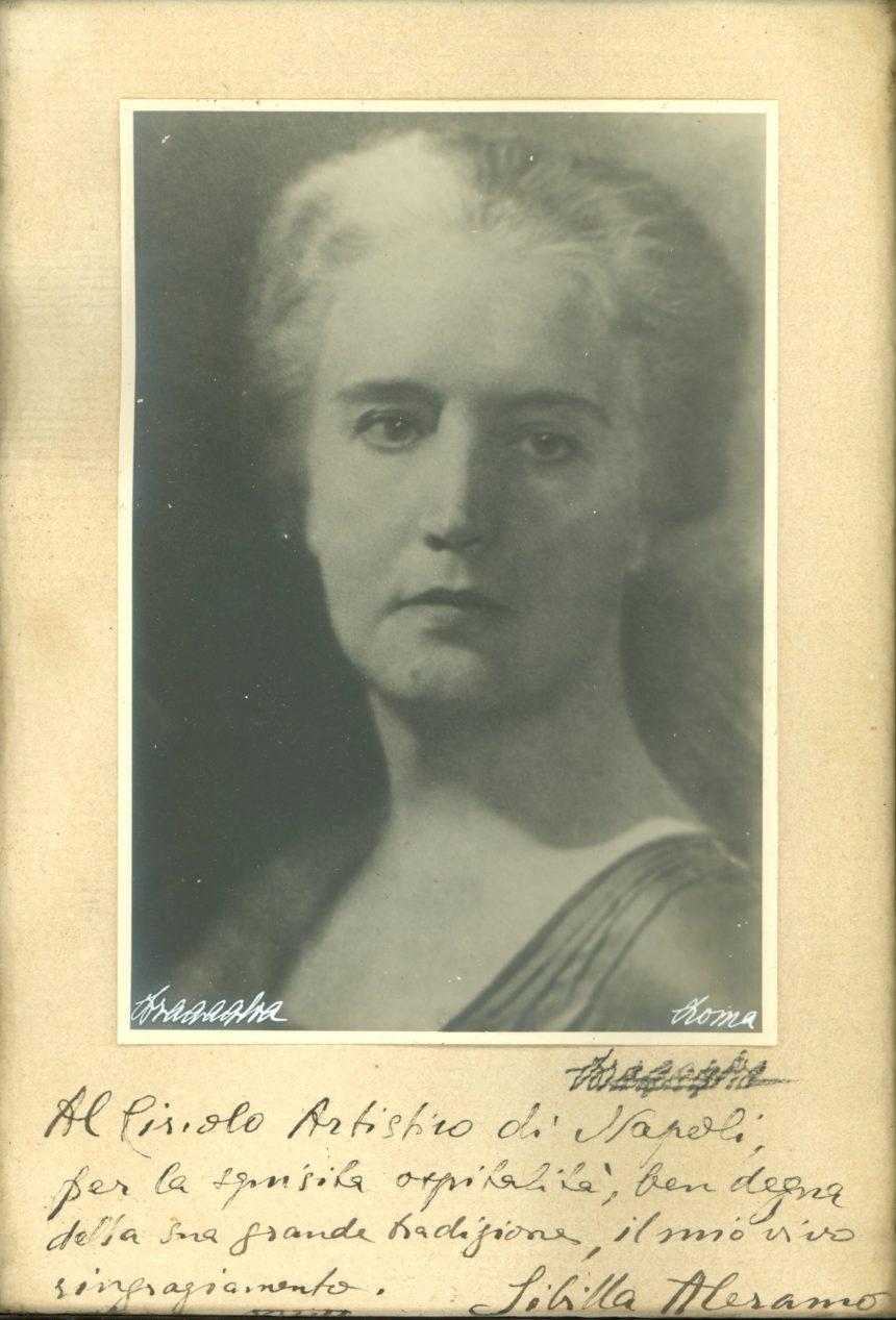 Sibilla Aleramo.