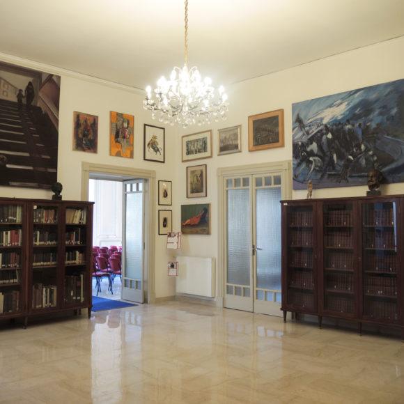 La Biblioteca dedicata a Ferdinando Russo